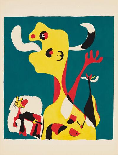 Joan Miró, 'Femme et chien devant la lune (Woman and Dog in Front of the Moon)', 1936