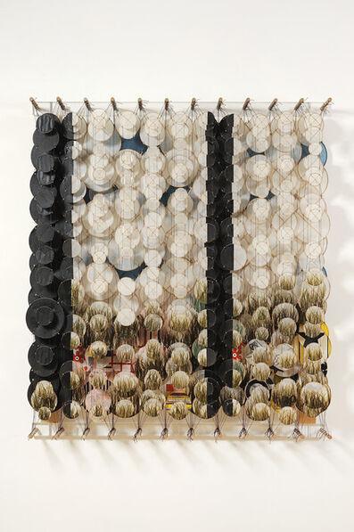 Jacob Hashimoto, 'Landscape with two black bars', 2007