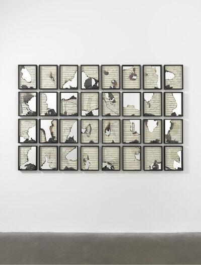 Douglas Gordon, 'Burnt Scores', 2011