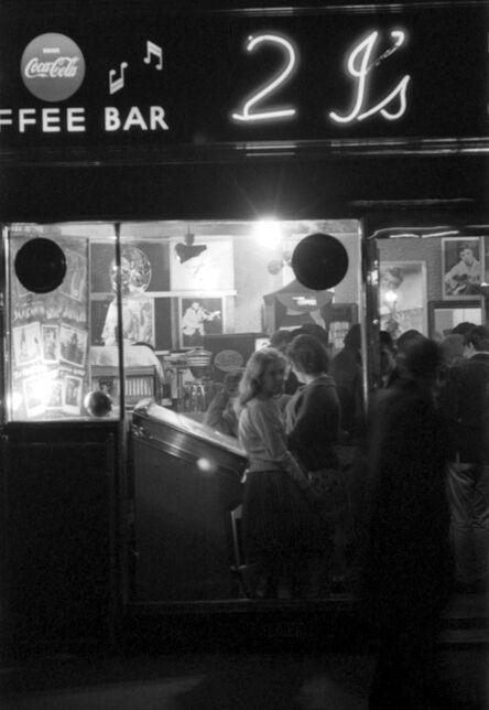 John 'Hoppy' Hopkins, 'The 2i's Coffee Bar, Old Compton Street, Soho, London', 1964