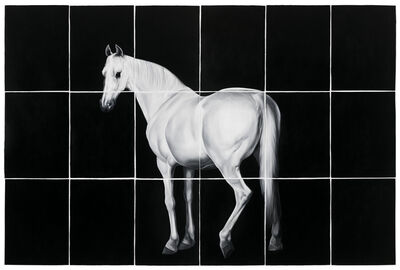 Shelley Reed, 'White Horse (after Grant and Stubbs)', 2016