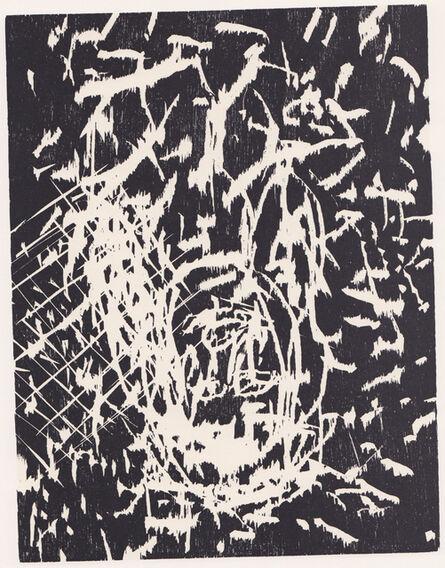 Georg Baselitz, 'Dresdner Frau IV', 1989/90