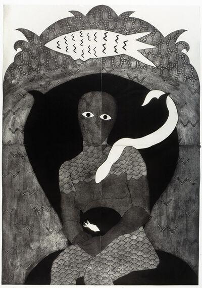 Belkis Ayón, 'Sikán', 1991
