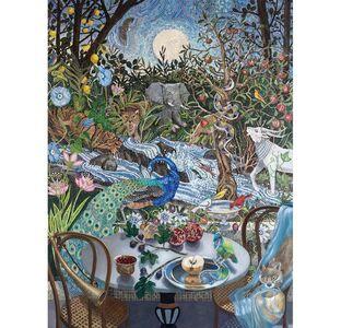 Barbara Kassel, 'Nightfall in the Garden'