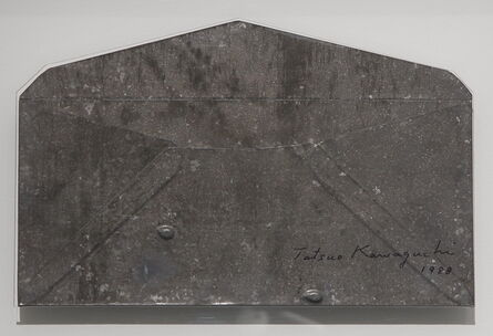 Tatsuo Kawaguchi, 'Lead Envelope with Apple Seeds', 1988