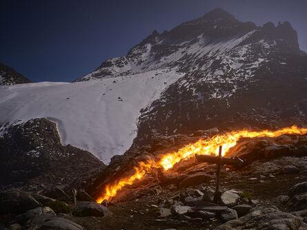 Simon Norfolk, 'The Lewis Glacier, Mt. Kenya, 1934 (A)', 2014