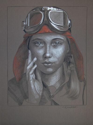Kathrin Longhurst, 'Pilot Girl 34', 2021