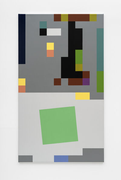 Reinhard Voigt, 'The One and the Many (Green)', 2020
