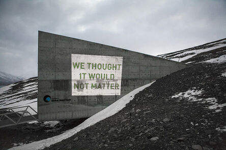 Cédric Maridet, 'We thought it would not matter', 2014