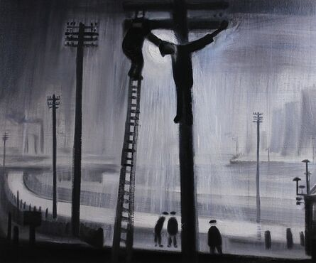 Theodore Major, 'Crucifixion in Wigan ', ca. 1975