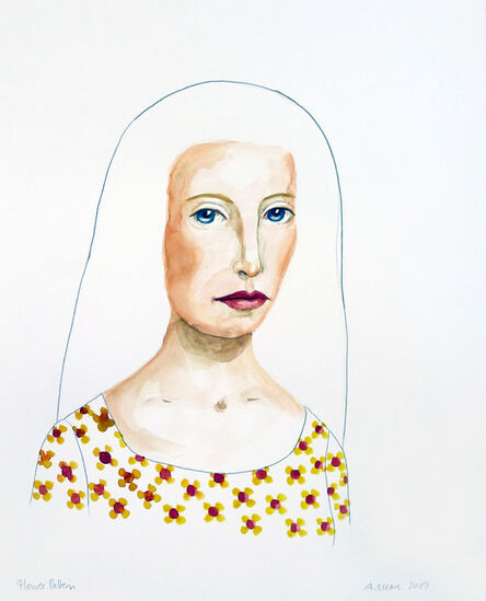 Anne Siems, 'Flower Pattern', 2020