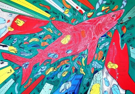Marko Gavrilovic, 'Meet the underwater red', 2015