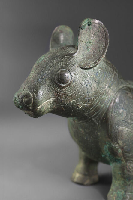 'Bronze animal shaped like a tapir', Late Spring and Autumn or Early Warring States