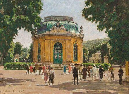 Stefan Simony, 'The Kaiserpavillon in Schönbrunn', ca. 1910