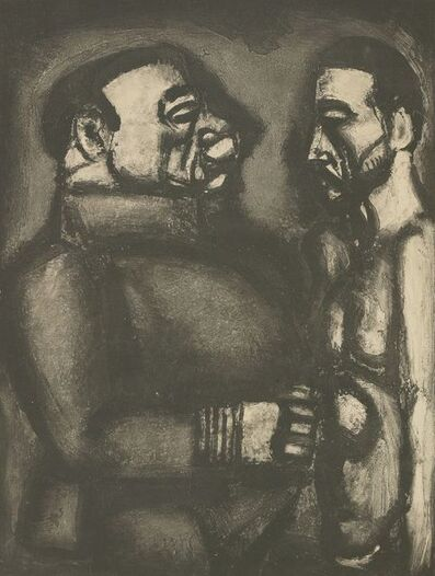 Georges Rouault, 'Face A Face, Plate Xl', 1948