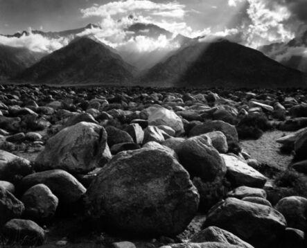 Ansel Adams, 'Mount Williamson, Sierra Nevada from Manzanar', 1944