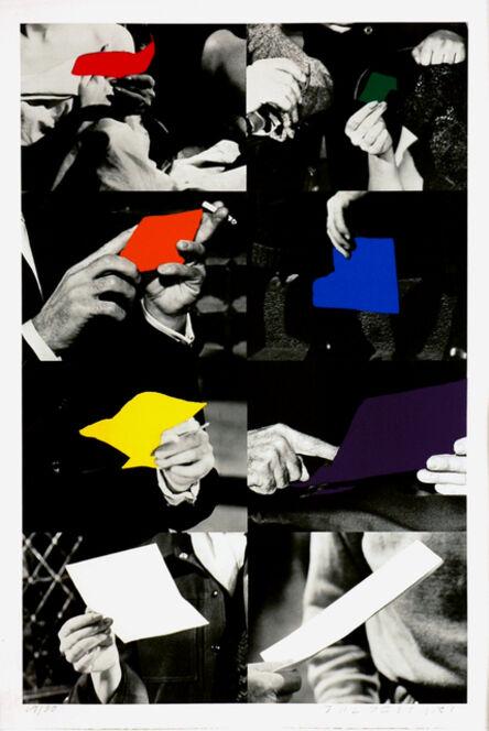 John Baldessari, 'Two Unfinished Letters', 1992