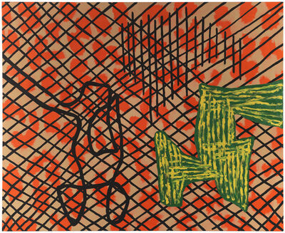 Jonathan Lasker, 'TO CARESS THE NAKED EYE', 1987