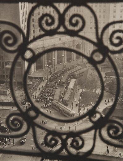 Margaret Bourke-White, 'Public Square, Terminal Tower, Cleveland', 1928/1998