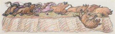 Luis Jimenez, 'Buffalo Hunt', 1990