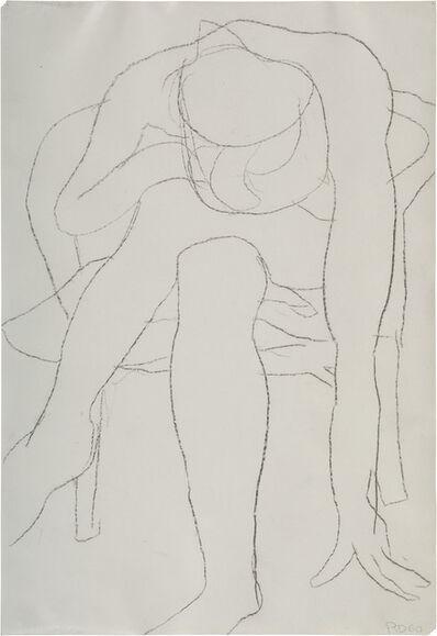 Richard Diebenkorn, 'Untitled (Seated Woman, Reaching Down)', 1960