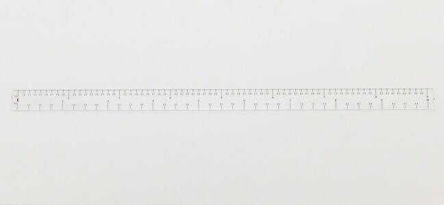 Cevdet Erek, 'Ruler Rhythm', 2011