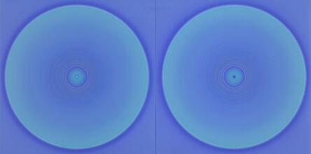 Minoru Onoda, 'WORK75-Blue1232', 1975