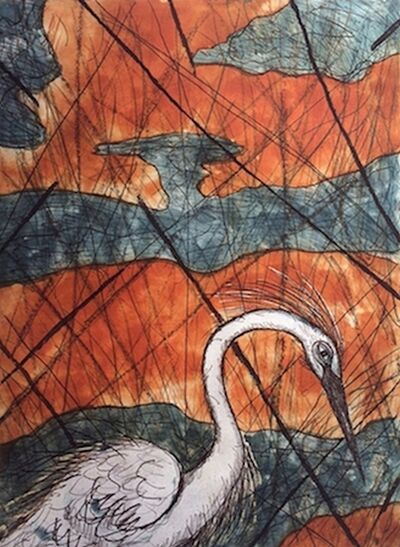 Frank X. Tolbert, 'Snowy Egret', 2015
