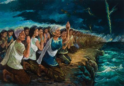 Vann Nath, 'Pray For Peace', 2008