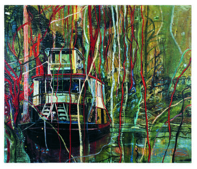 Peter Doig, 'Okahumkee (Some other people's Blues)', 1990