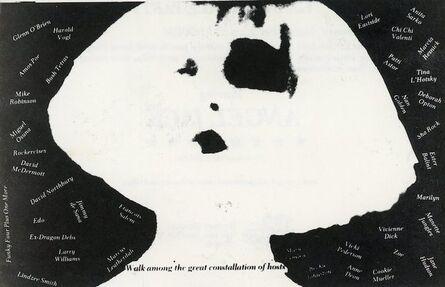 Walter Robinson, 'The Kitchen, Edit deAk, Walter Robinson, Dubbed in Glamour, Folded Card', 1980