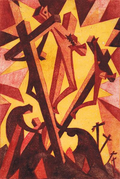 Sybil Andrews, 'Golgotha', 1931