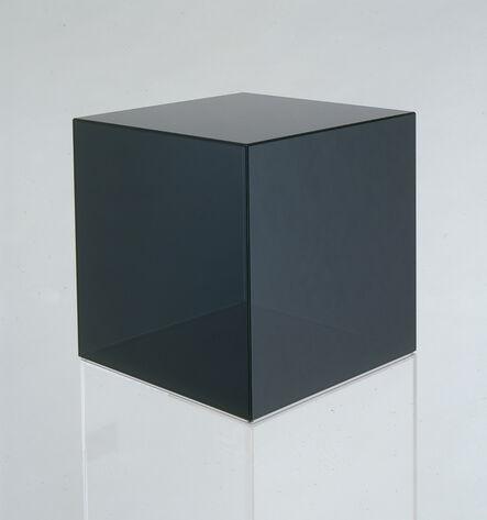 Larry Bell, 'Cube 53 (dark grey)', 2006