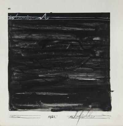 Mangelos, 'istančanost (refinement) from the series 'Abfälle'', 1961