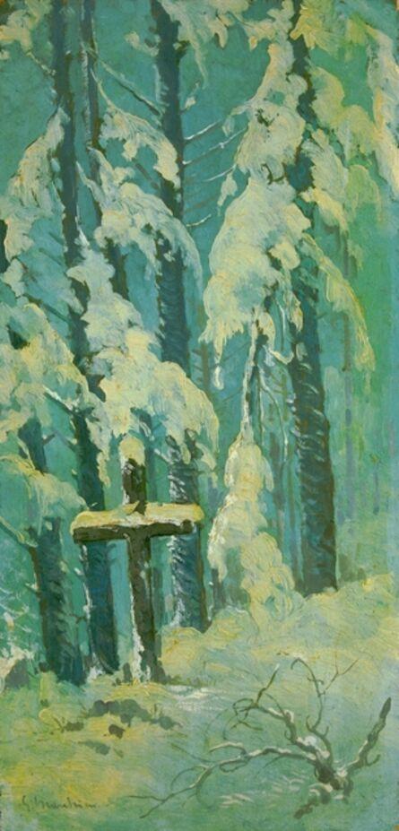 Giovanni Marchini, 'Inverno alpestre Mandrioli', 1938