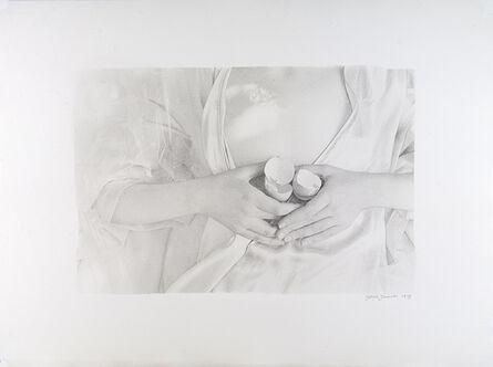 Joyce Tenneson, 'Cracked Shells on Chest', 1979