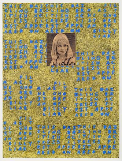 Anthony Campuzano, 'Julie Christie', 2014