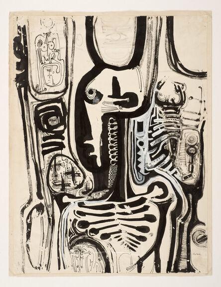 Ibrahim El-Salahi, 'Untitled', ca. 1960