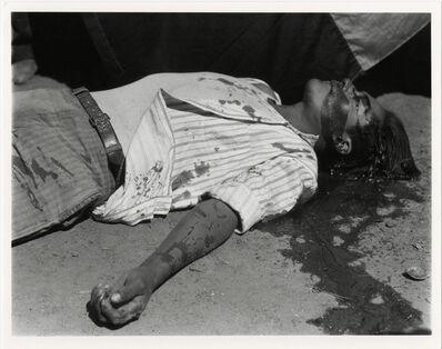 Manuel Álvarez Bravo, 'Obrero en huelga asesinado (striking worker murdered)', 1934