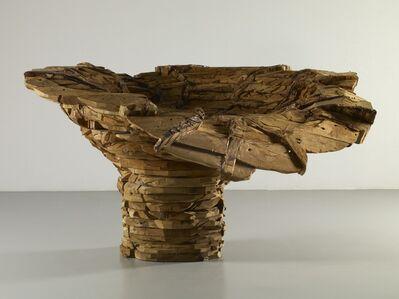 Ursula Von Rydingsvard, 'Exploding Bowl', 2005