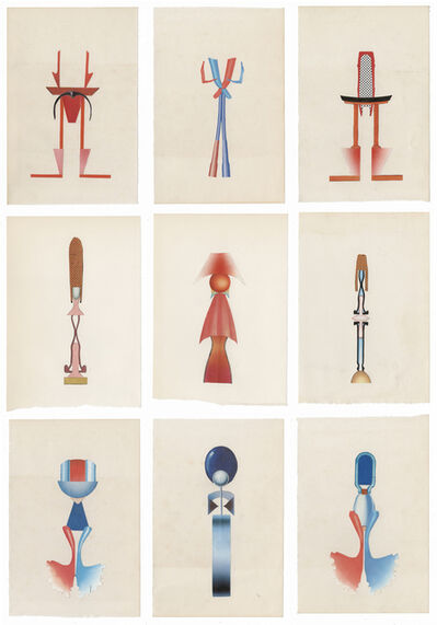 Erik Frydenborg, 'Full Color Bachelors 285-293', 2014