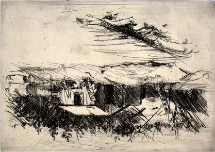 Georg Baselitz, ' Composition IV, from: One Week | Eine Woche', 1972