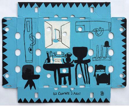 Soeren Behncke, 'La Chambre (Little Blue Version)', 2015