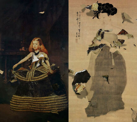 Lee Lee Nam, 'Miindo, Velazquez and Some Ants (55-inch)', 2011