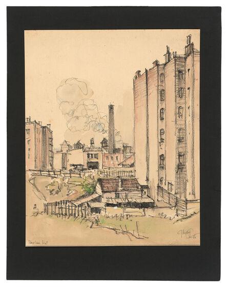 Jules Andre Smith, 'The Harlem Hut', ca. 1915