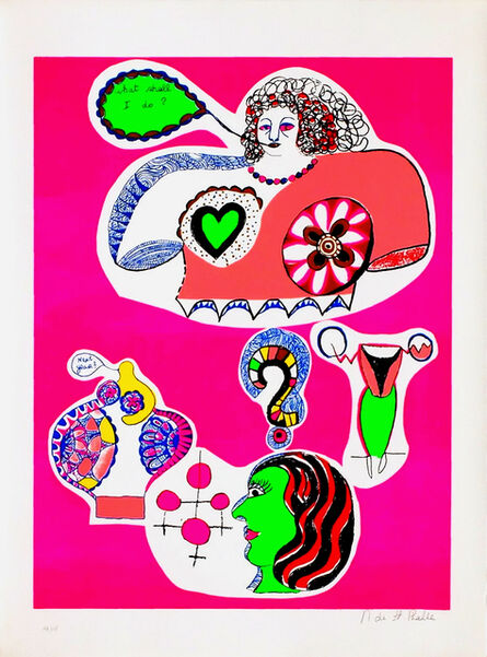 Niki de Saint Phalle, 'Nana Power - What shall I Do', 1970