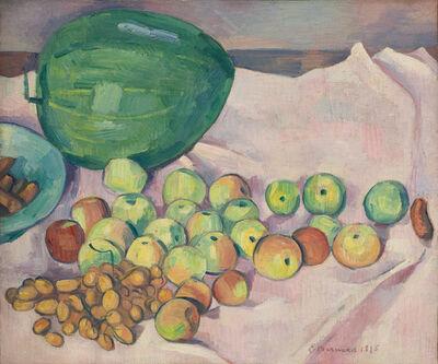 Émile Bernard, 'Nature morte à la pastèque', 1895