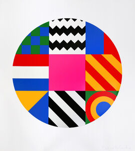 Peter Blake, 'Dazzle Disc', 2016