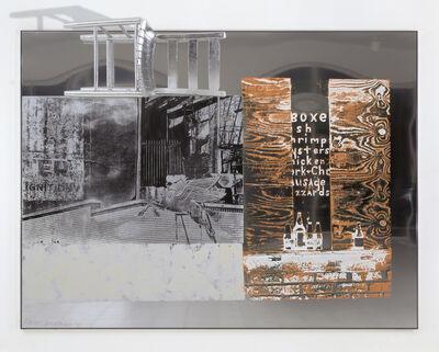 Robert Rauschenberg, 'Pegasits / ROCI USA (Wax Fire Works)', 1990