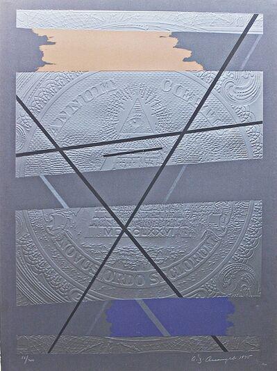 Allan D'Arcangelo, 'Beginnings (from America: The Third Century)', 1975